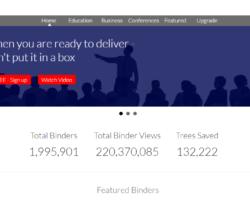 Create Digital Binders with LiveBinders