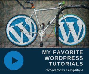 WordPress Tutorials Bike Image