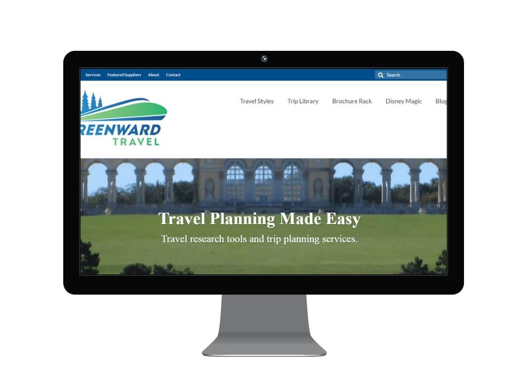 Screenshot for Greenward Travel