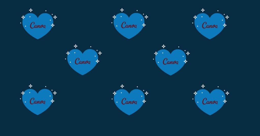 I love Canva Hearts