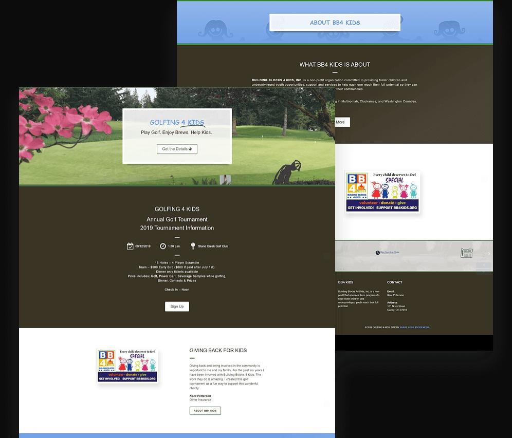 Golfing4KidsMockup