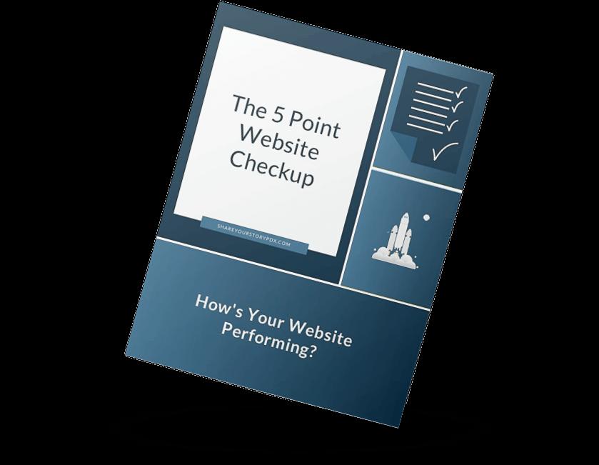 5 Point Checkup Mockup